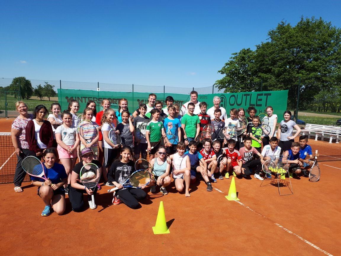 """Aktionstag """"Schule spielt Tennis"""""""